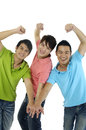 Three men Royalty Free Stock Photos