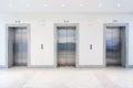 Doors in elevator Royalty Free Stock Photo