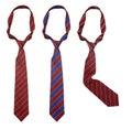 Three neck ties isolated Royalty Free Stock Photo