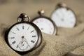 Three Old Pocket Watches
