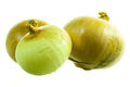 Three onion. Royalty Free Stock Photo