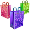 Three packages Royalty Free Stock Image