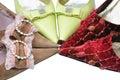 Three pairs elegance shoes Royalty Free Stock Photo