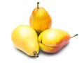 Three pears osolated on white background Stock Image