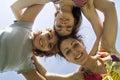Three playmates Royalty Free Stock Photo