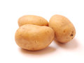 Three potatoes Royalty Free Stock Image