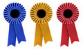 Three Rosettes Royalty Free Stock Images
