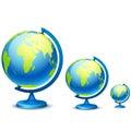 Three school globe
