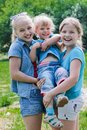 Three sisters Royalty Free Stock Photography