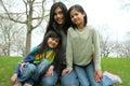 Three sisters Royalty Free Stock Photo
