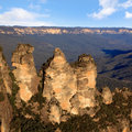 Three Sisters Blue Mountains Royalty Free Stock Photo