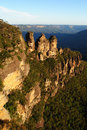 Three Sisters, Blue Mountains Stock Images