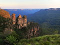 The Three Sisters Royalty Free Stock Photo