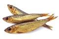 Three smoked fish Royalty Free Stock Photo