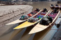 Three Speed Boats Royalty Free Stock Photo