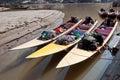 Three Speed Boats Royalty Free Stock Photography