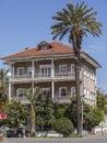 Three Storey House Royalty Free Stock Photo