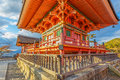 Three storied pagoda at kiyomizu dera temple in kyoto japan november japan on november founded heian period the present building Stock Image