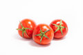 Three tomatoes Royalty Free Stock Photo