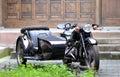 Three-wheeled motorfiets Royalty-vrije Stock Afbeelding