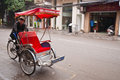 Three-wheeler taxi Royalty Free Stock Photos