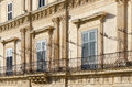 Three Windows in Noto Royalty Free Stock Images