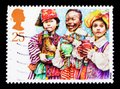 Three Wise Men, Christmas 1994 - Children`s Nativity Plays serie, circa 1994 Royalty Free Stock Photo