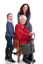 Three women generations Royalty Free Stock Images