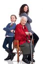 Three women generations Royalty Free Stock Image
