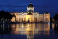 The Throne Hall At Night in Bangkok Royalty Free Stock Photos
