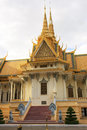 Throne Hall, Royal Palace complex, Phnom Penh, Cambodia Stock Photo