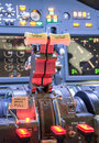 Throttle Of An Airplane
