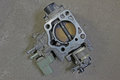Throttle body removed from japan car Royalty Free Stock Photography