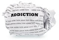 Throw addiction Royalty Free Stock Photo