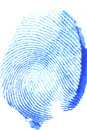 Thumb print Stock Photo