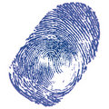 Thumbprint Stock Image