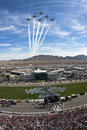 Thunderbirds Sprint Cup Series Shelby 427  27 Royalty Free Stock Photo