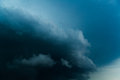 Thunderclouds, bad weather Royalty Free Stock Photo