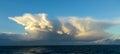 Thunderhead, Cherbourg Peninsular, France. Royalty Free Stock Photo