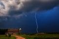 Thunderstorm On The Farm