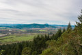 Thurston Hills Natural Area Scenic Landscape Royalty Free Stock Photo