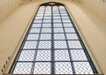 Thw window such as the beautiful sacral architecture Royalty Free Stock Photos