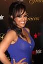 Tia Mowry-Hardrict arrives at the 37th Annual Gracie Awards Gala Royalty Free Stock Photos