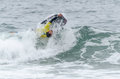 Tiago silva ovar portugal august at the nd stage of the bodyboard protour on august in ovar portugal Stock Photo