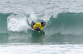 Tiago silva ovar portugal august at the nd stage of the bodyboard protour on august in ovar portugal Stock Photography