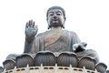 Tian tan giant buddha lantau island hong kong Royalty Free Stock Images