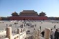 Tiananmen, Meridian Gate, Beijing, China Royalty Free Stock Photo
