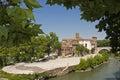 Tiber Island Royalty Free Stock Photo
