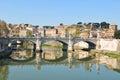 Tiber river Royalty Free Stock Photos