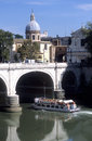 Tiber in Rome Royalty Free Stock Images